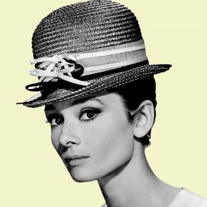 Audrey Hepburn Cushion or Cushion Cover American Actress Vintage Photo