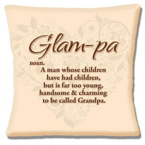 Glam-pa Keepsake Cushion