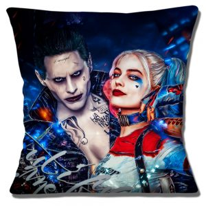 Harley Quinn The Joker Cushion or Cushion Cover Suicide Squad