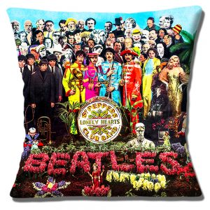 Sgt. Peppers Cushion or Cushion Cover Lonely Hearts Club Band The Beatles