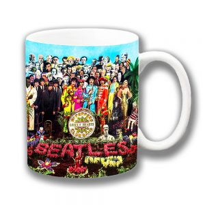 Sgt Peppers Coffee Mug Lonely Hearts Club Band The Beatles