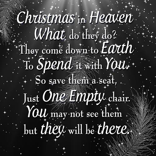 christmas in heaven cushion cover black 16 inch 40 cm description lovely christmas in heaven