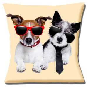 Jack Russell Dogs Cushion or Cushion Cover Sunglasses Cool Dudes