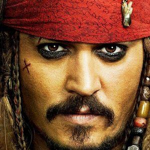 Captain Jack Sparrow Cushion or Cushion Cover Pirates of the Caribbean