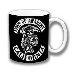 Sons of Anarchy Coffee Mug TV Film Skull California