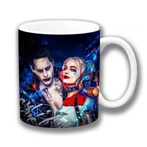 Harley Quinn The Joker Coffee Mug Suicide Squad Film Characters
