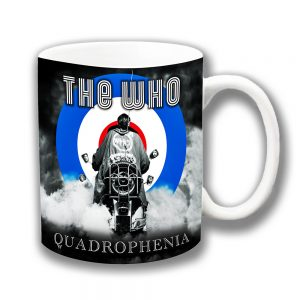 The Who Coffee Mug Quadrophenia Film Scooter MOD
