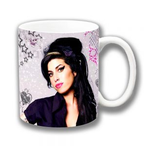 Amy Winehouse Coffee Mug American Singer Musician