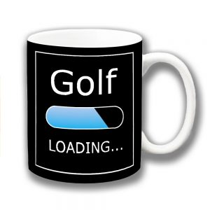 Golf Coffee Mug Funny Message Lozenge Loading ...