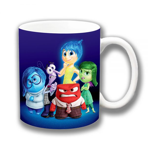 Inside Out Coffee Mug Disney Film Characters Ceramic