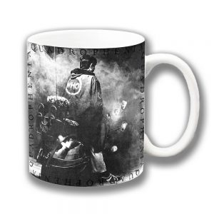 The Who Coffee Mug Quadrophenia Film Scooter MOD Grey