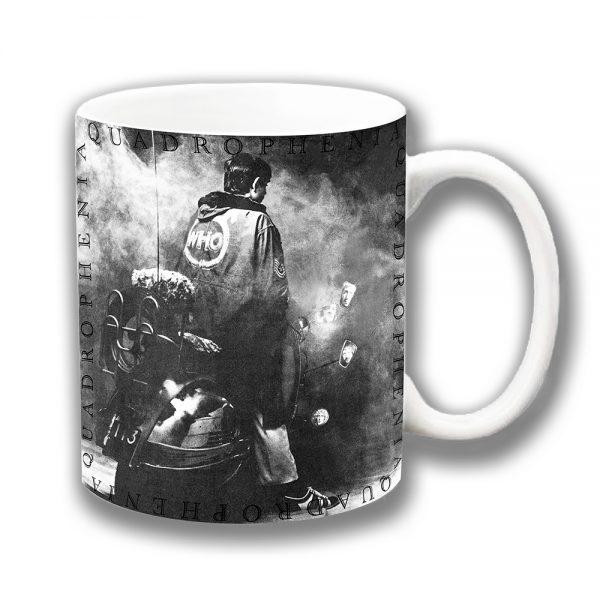The Who Coffee Mug Quadrophenia Film Scooter MOD Grey