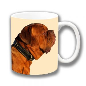 Bullmastiff Coffee Mug Adult Tan Dog Ceramic Cream