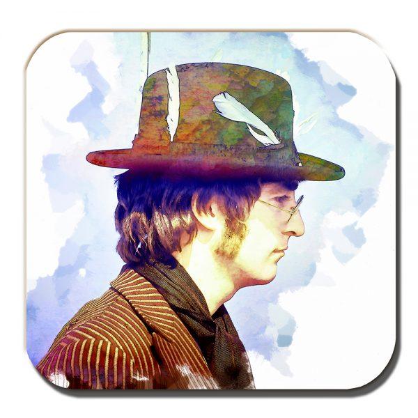 John Lennon Coaster The Beatles Musician Liverpool Artistic