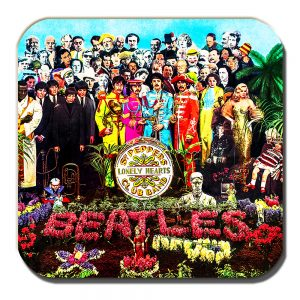 The Beatles Coaster Sergeant Pepper's Lonely Hearts Club Band Album