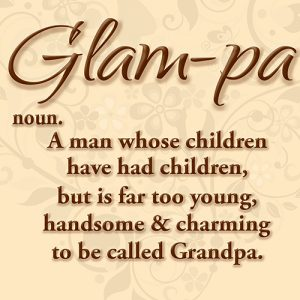 Glam-pa Keepsake Cushion or Cushion Cover for Special Grandpa