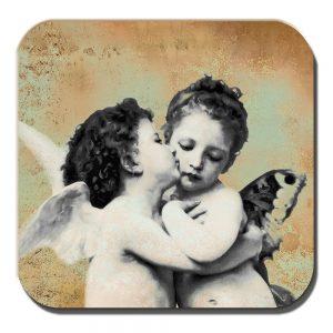 Cherub Coaster Renaissance Art Cherubim Angels