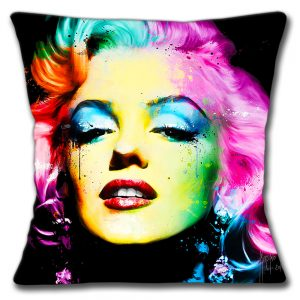 Marilyn Monroe Cushion or Cushion Cover American Actress Multi